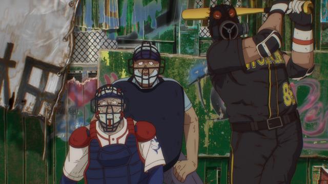 野球大会アニメ