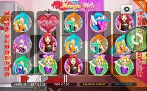 Manga Girls Slots