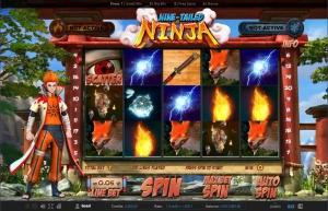 Nine Tailed Ninja Online Slots